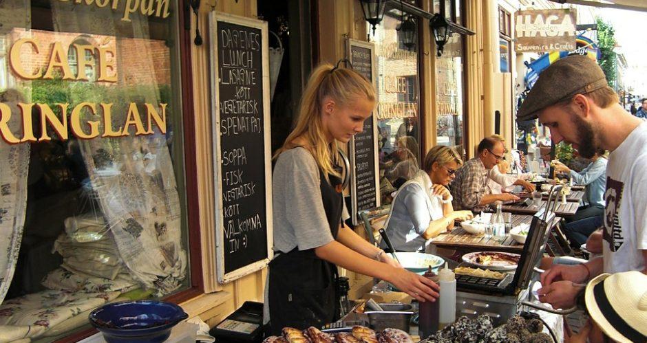 marknad på haga i Göteborg